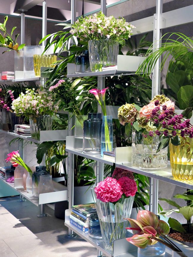flower market elle decor milan