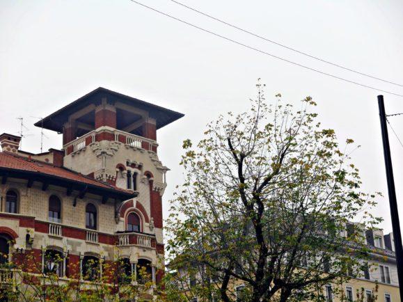 architecture en brique milan