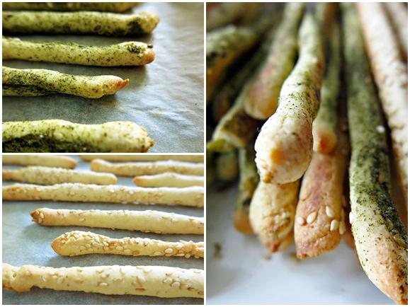recette gressins italiens au levain