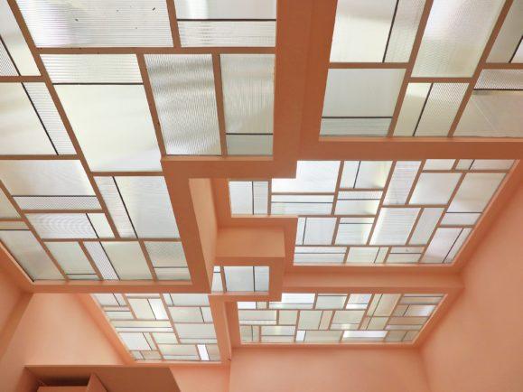 vitraux puit de lumière villa noailles