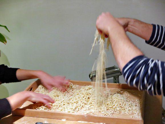 faire pâtes fraîches à la main