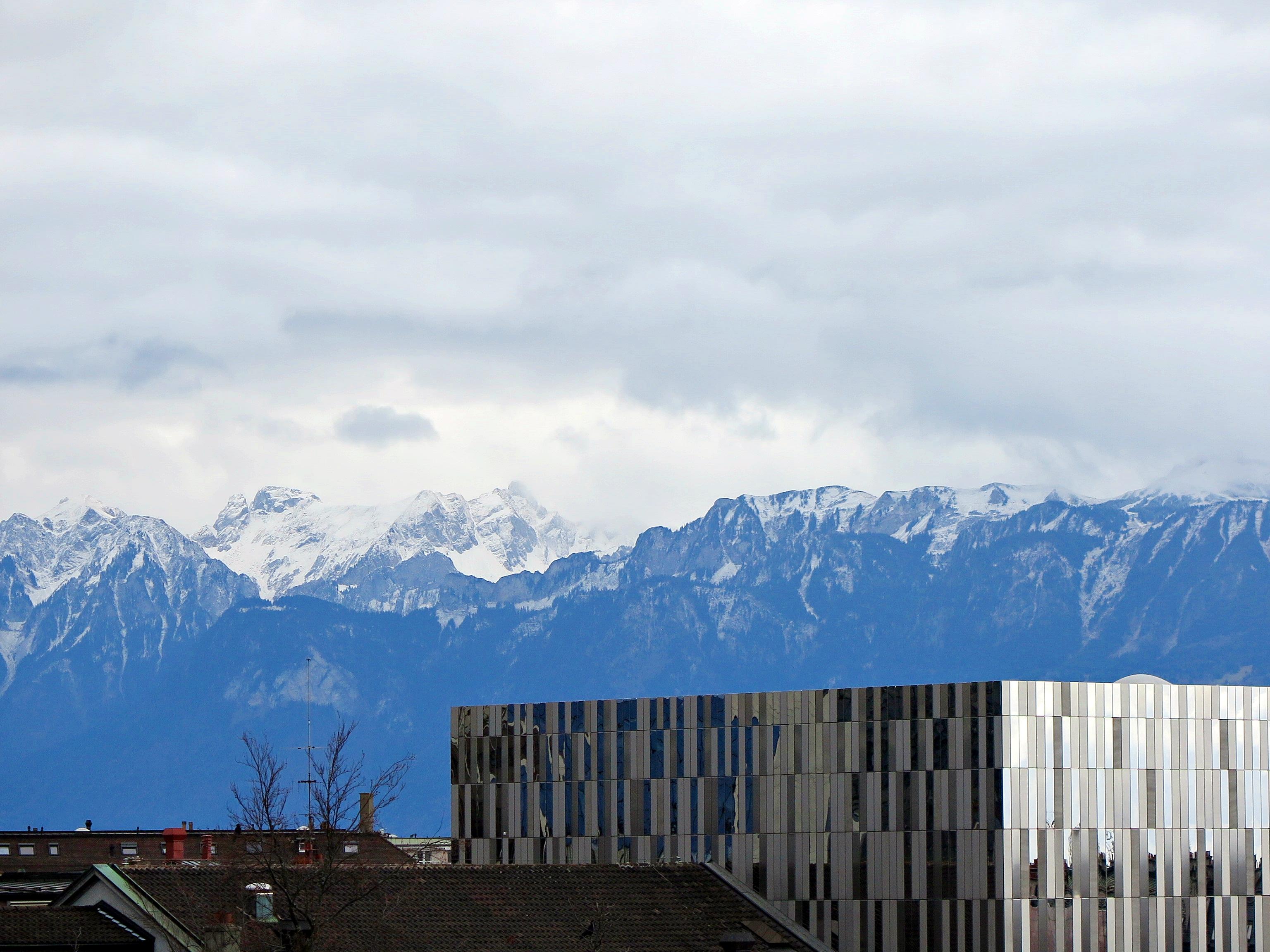 Lausanne, première visite