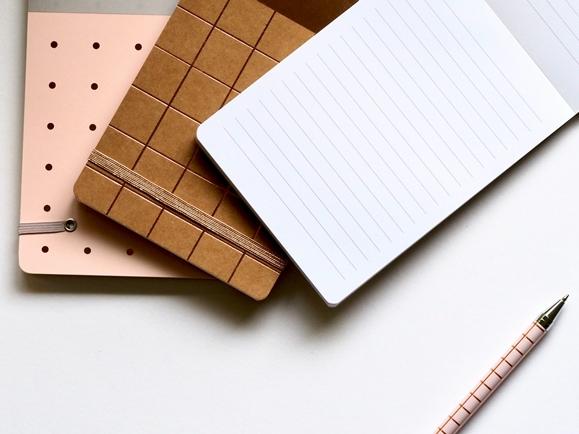 cahier écriture