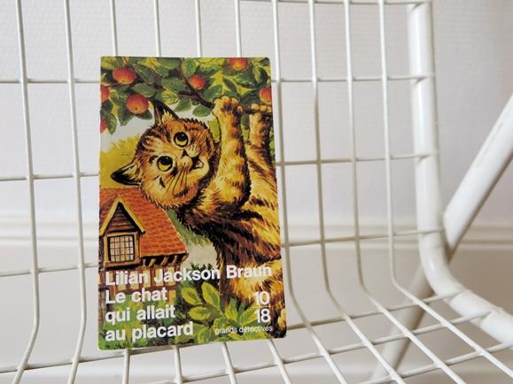 livre chat lilian jackson braun